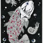 魚 /200X