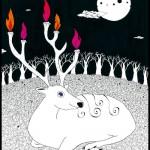 candle deer /2005